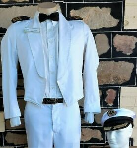 Cruise Ship, Waiters Jacket & Hat , white, cotton/poly, by 'Ray Uniforms', si...