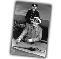 "War Photo Erich Topp German U-Boat commander Glossy Size ""4 x 6"" inch U"