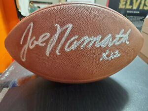 Joe Namath Autographed OFFICIAL NFL Football.   Steiner Authenticated.