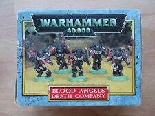 Warhammer 40k OOP Blood Angels Death Company box set Rare