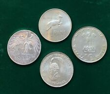 More details for 4x large silver world coins 61 grams includes 2x from food for all collection