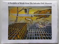 "A Portfolio of Works From the Salvador Dali Museum 2017, 14 Prints 12"" x 16"""