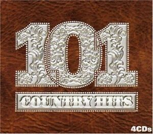 101 COUNTRY HITS (4 CD BOXSET) EMI - GENUINE ORIGINAL - NEW & SEALED!!!