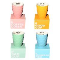 4 x McDonalds Kaffee Tassen 2020 Komplett Set Neu Ovp Espresso Capuccino Bunt