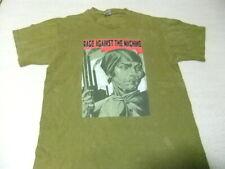 vintage Rage Against The Machine 90 T Shirt Single Stich Rock Tour concert