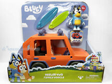 Bluey Heeler 4WD Family Vehicle Includes Bandit Figure and Surfboards Moose Toys