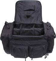 Black Deluxe Concealed Carry CCW Law Enforcement Shoulder Gear Bag