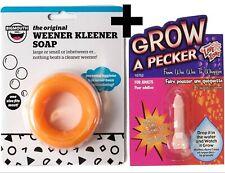 1 Weener Kleener Cleaner Willy Soap + 1 Grow Pecker ~ Combo Set