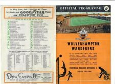 Wolverhampton Wanderers v Aston Villa - 26/12/1963