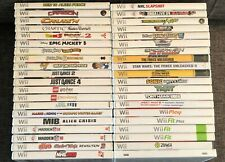 Nintendo Wii Games ** You Pick ** Free Shipping