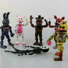 6 Pcs / Set Five Nights At Freddy's FNAF Freddy Action Figures Kids Gift Toys