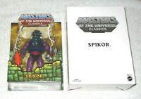 MOTU Classics - Spikor & shipping box (MOC) - 100% complete