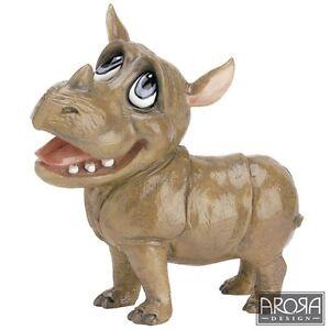 Little Paws 399-LP-RHI Rhianna the Rhino Rhinoceros Figurine