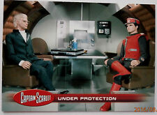 CAPTAIN SCARLET - Individual Trading Card #20, Under Protection - Unstoppable