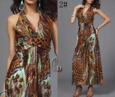 Boho Polyester Dresses Asymmetric