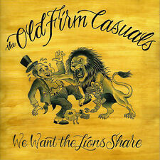"""The Old Firm Casuals - We want the lions share NEU Oi Punk Skinhead HC 7"""" Rancid"""