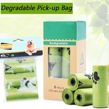 Poop Bags for Dogs -Pet Dog Biodegradable Waste Poo Bag-Pick Up Clean Leak-Proof