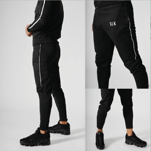 New Mens Joggers Bottom Tracksuit Gym Slim Fit Hooded Fitness Hoodie Football