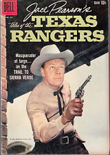 4-COLOR #961 1958 DELL-TEXAS RANGERS- ''TALES FROM JACE PEARSON'' TV/MOVIE...VG+