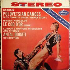 Antal Dorati Borodin Polovetsian Dances Le Qoc D'Or Suite Mercury Stereo SR90122
