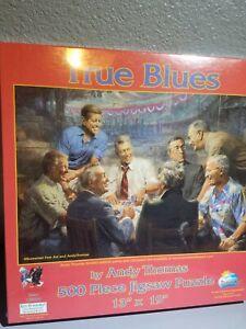 True Blues Political Liberal Democrat Presidents 500 Piece Jigsaw Puzzle New nos