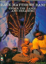 Dave Matthews Band piano vocal guitar songbook Under the Table and Dreaming