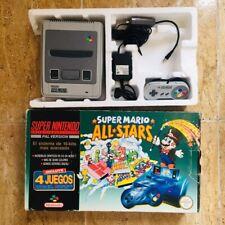 Consola Mario All Star Super Nintendo 64 Gamecube Nes GBA Pal España