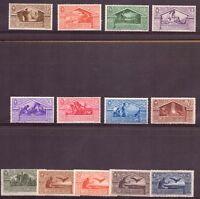 1930 Bimillenario Nascita Virgilio 13 Valori Catalogo 282-90 + A23-6 MNH Integri