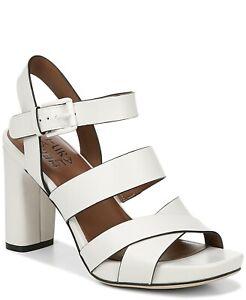 Naturalizer Julisa Dress Sandals, Cushioned, Breathable, Alabaster, Size 9.5 W