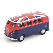 Offizieller VW Wohnmobil Bus USB Speicherstick 8Gb - Blau + Union Jack