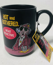 Hallmark Maxine Hot And Bothered What Else Is New Heat Reactive Coffee Mug New!