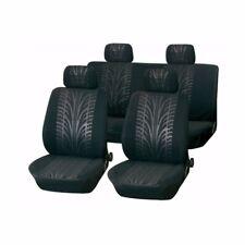 Grey / Black Motorsport Seat Covers Protectors Toyota Corolla Verso 2001-2009