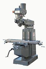 Eisen S 4a Milling Machine 10x54 Table 5 Hp Nt40 Free 2 Axis Dro