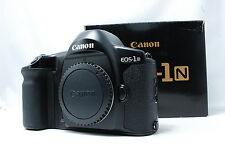 Canon EOS-1N 35mm SLR Film Camera  Boxed SN268427  **Near Mint**