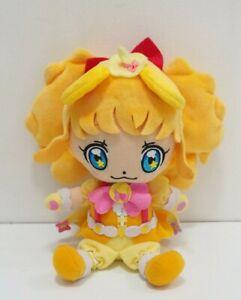 "Maho Girls PreCure Pretty Cure MOFURUN Plush 8"" Bandai 2016 Doll Japan"
