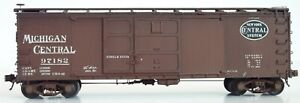 NYC Michigan Central Westerfield 2904 HO Steel Boxcar Assembled Weathered