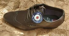 Ben Sherman Mens Designer Brown Shoes - Size UK 9 / 43