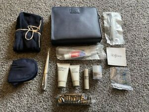 BRITISH AIRWAYS LIBERTY'S MENS FIRST CLASS TRAVEL TOILETRIES GIFT BAG REFINERY