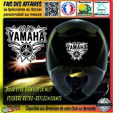 Stickers Autocollant adhésif YAMAHA retroreflechissant casque réservoir etc