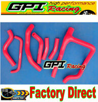 new silicone radiator hose kit for HONDA XRV750 XRV 750 AFRICA TWIN red