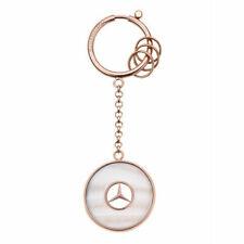 Mercedes-Benz Keyring Prague Rose Gold B66953744 Genuine New