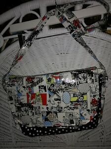 Bags Of difference Cartoon Oilcloth Messenger Bag Unused