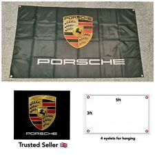 Porsche Workshop Garage Banner Flag 911 993 930 GT4 Cayenne Boxter GT3 Panamera