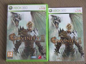 JEU XBOX 360 DIVINITY II EGO DRAGONIS COMPLET EN FRANCAIS