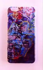"""Cover Case Guscio Rigido iPhone 6 6S Plus 5.5"""" Graffiti Disegni Murales"""