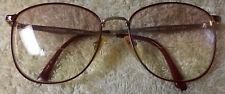 "Laura Ashley Eyeglass Frames, lovely details, ""Burgundy/Gold"", ""Isabelle"", round"