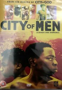 City of Men DVD 2002 Brazilian Rio Street Crime Gang God Spin-Off Series