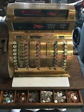 cash register antigue (1916) NCR brass