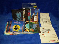 The Little Mermaid - 1991 Proset of 90 w/ Insert Sets 15 Stand 15 Color 7 Stick