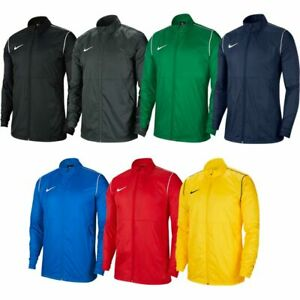 Mens Nike Rain Jacket Dry Park 20 Waterproof Coat Sports Running Size S M L XL